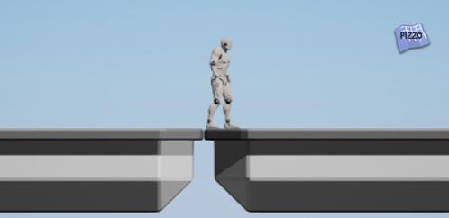 Progetto template 2D Side Scroller Platform 2D Scorrimento Verticale