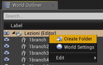 Come creare una cartella su Unreal Engine 4
