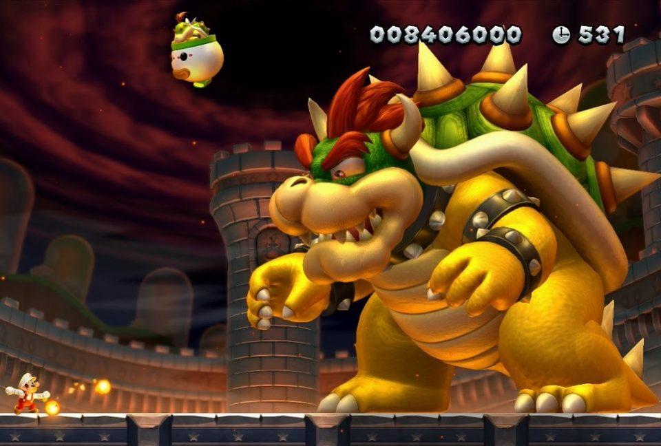 Esempio di template Side Scroller: New Super Mario Bros U