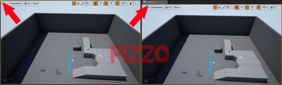 Come aprire una finestra nell'editor di Unreal Engine 4