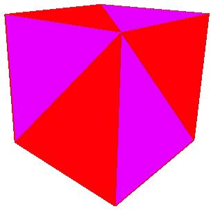 Che cos'è una Mesh? I triangoli