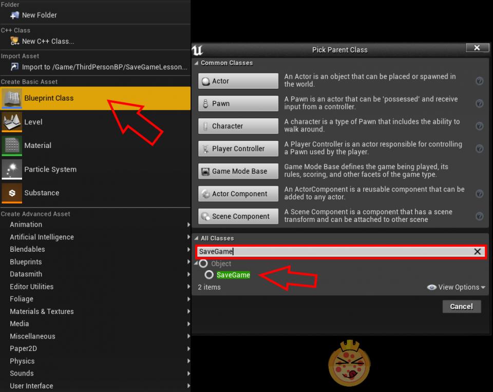 Creare un sistema di salvataggi su Unreal Engine 4
