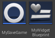 SaveGame and WBP UE4 ITA