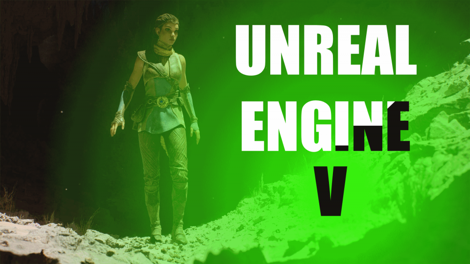 Unreal Engine 5 official announcement by Epic Games Lumen and Nanite