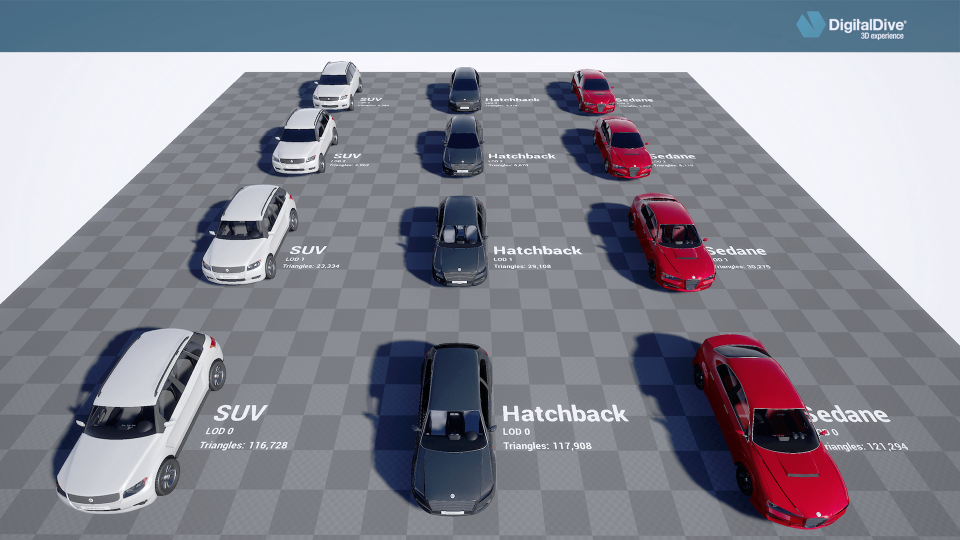 UE4 Marketplace Free Cars with drive system only for the month of May