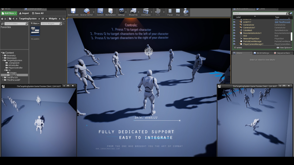 Targeting System Unreal Engine 4