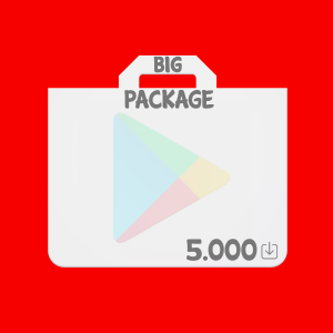 Buy downloads for mobile android app at cheap prices 0.07€ Play Store