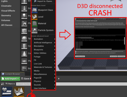 Unreal Engine is exiting due to D3D device being lost. (Error: 0x0 – 'S_OK') in UE 4.26.1 and 4.27